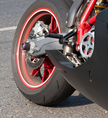Motorcycle riders sustain severe injuries if they are hit by a truck.