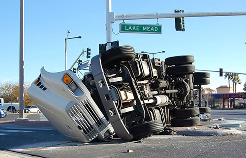 What should an individual do in the days following a rollover truck accident in Las Vegas, Nevada?