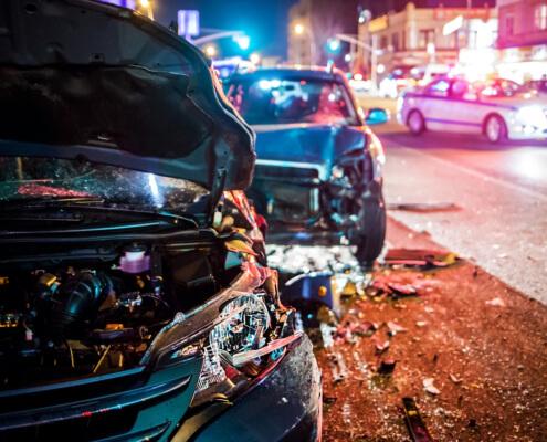 Accidente Automovilístico en Las Vegas, NV