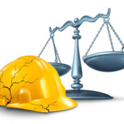 Who can a construction worker sue when they are provided with defective safety equipment?