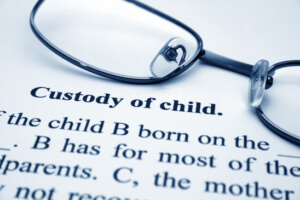 What will a Kentucky judge use to decide custody?