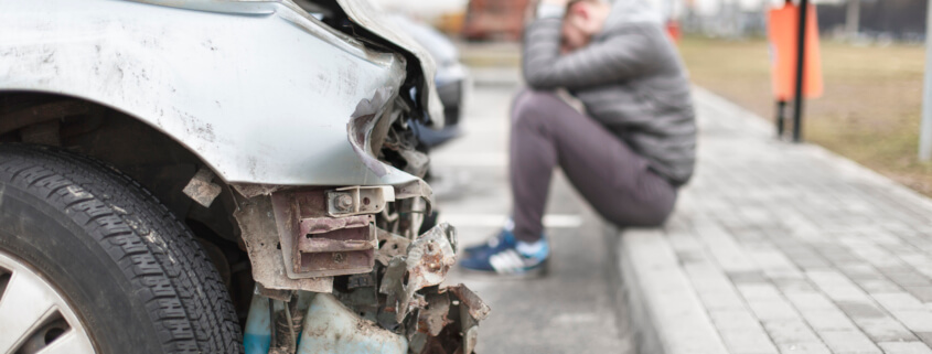 Can a driver in Omaha, NE recover compensation for an accident they caused?