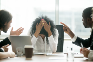 Washington D.C., What is considered a hostile or offensive work environment?