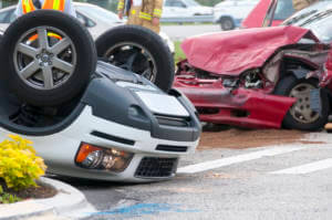 How can Florida drivers protect themselves if they have been involved in a chain-reaction crash?